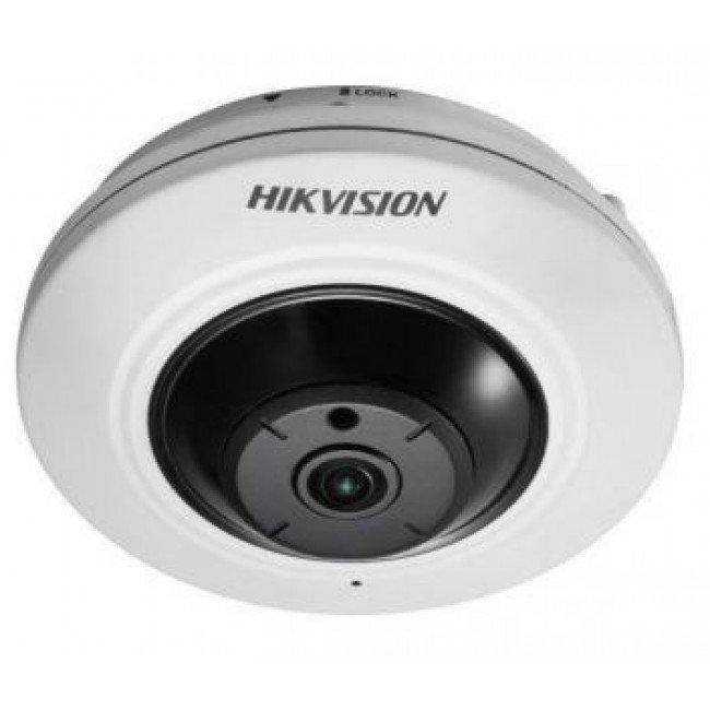 "Hikvision DS-2CC52H1T-FITS (1.1 мм) 5Мп ""рыбий глаз"" IP видеокамера"