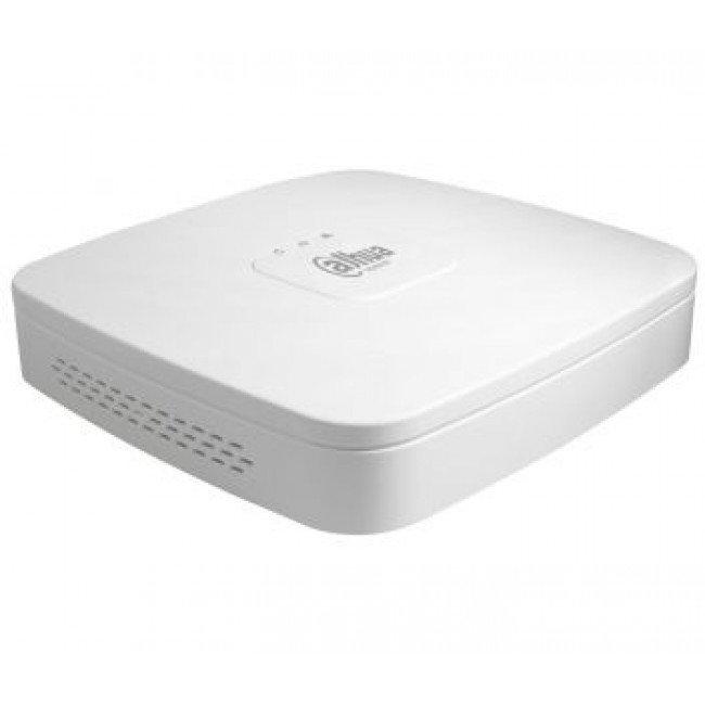 Dahua DH-NVR4104-P-4KS2/L 4-канальный PoE Smart 1U 4K сетевой видеорегистратор