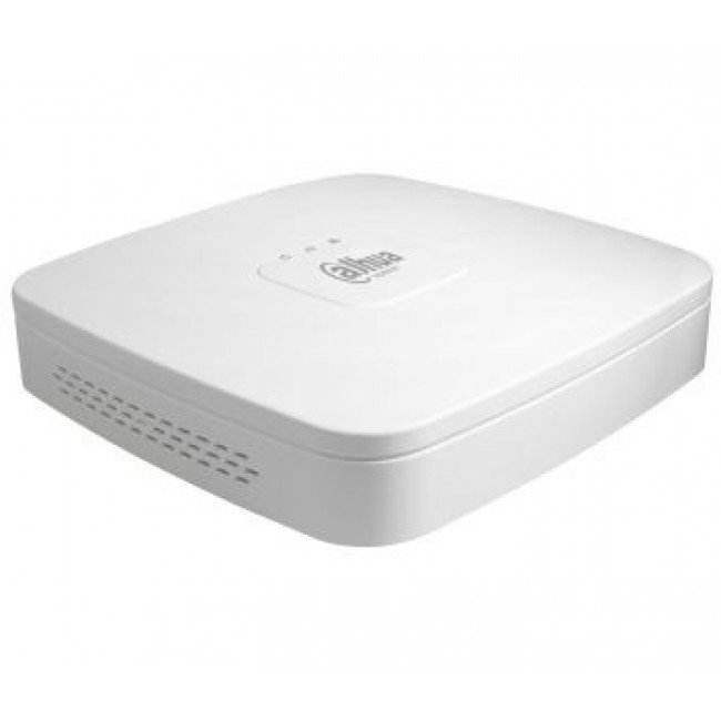Dahua DHI-NVR2104-P-4KS2 4-канальный Smart 4K NVR c PoE на 4 порта