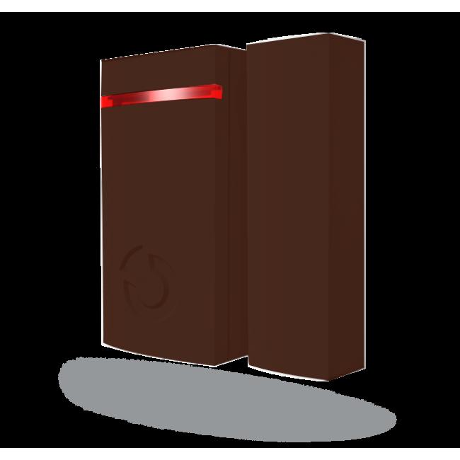 Jablotron JA-151MB Беспроводной магнитоконтактный извещатель – миниатюрный, коричневый