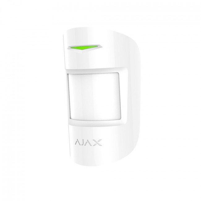 Ajax CombiProtect white Беспроводной датчик движения и разбития
