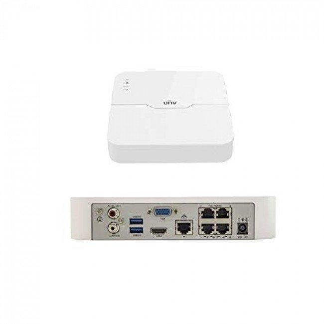 Uniview KIT/301-04LB-P4/4*2122LR3-PF40-E Комплект IP видеонаблюдения