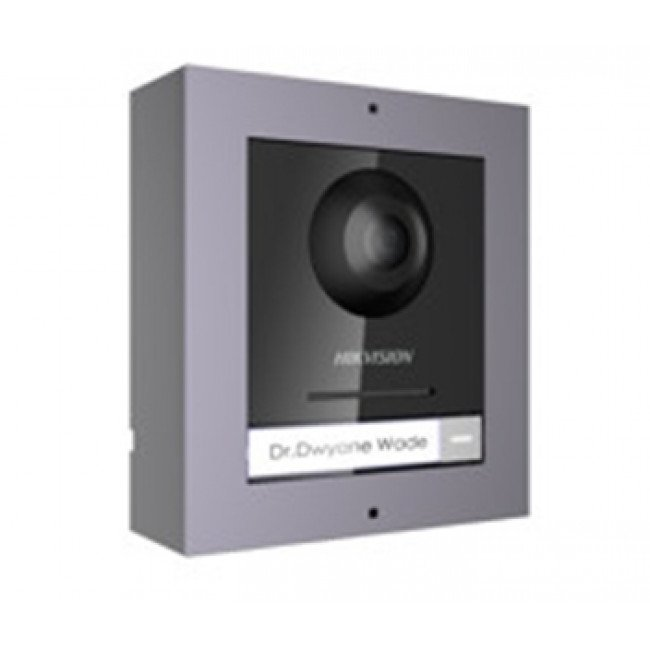 Hikvision DS-KD8003-IME1/SURFACE Комплект модуля вызывной IP панели + накладная рамка
