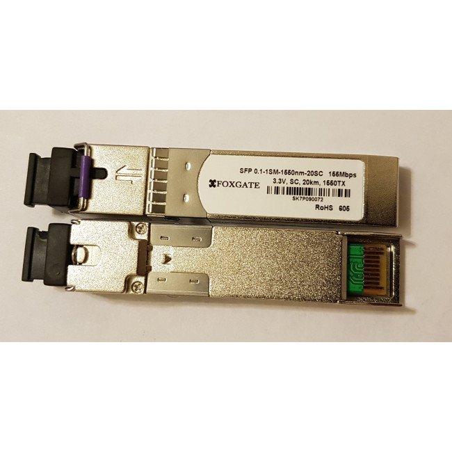 FoxGate SFPd-1SM-1550nm-20SC модуль SFP