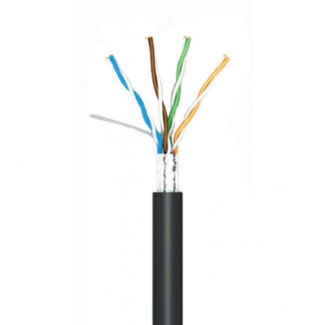 OK-NET 4*2*0.51 КППЭ-ВП(100) кат.5е, FTP, медь (500м) Кабель витая пара наружн.