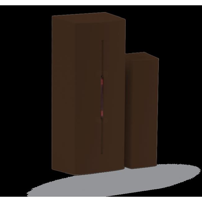 Jablotron JA-183MB Беспроводный магнитоконтактный извещатель – миниатюрный, коричневый
