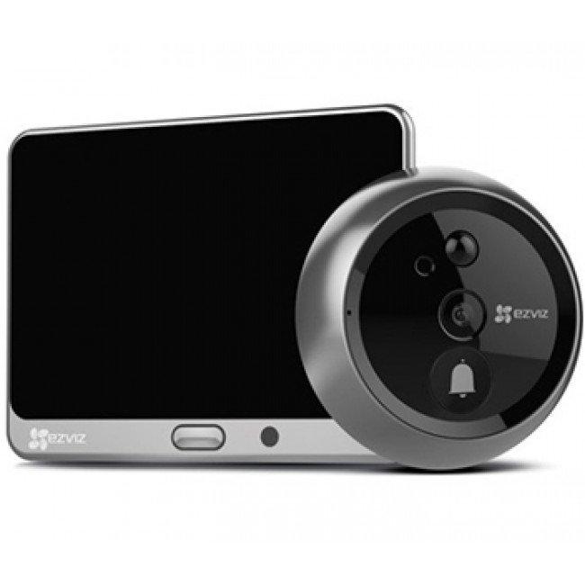 Ezviz CS-DP1 (A0-4A1WPFBSR) Комплект 3 в 1: дверной глазок, звонок и домофон