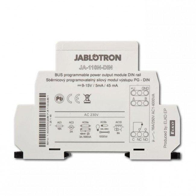 Jablotron JA-110N-DIN модуль релейного PG выхода