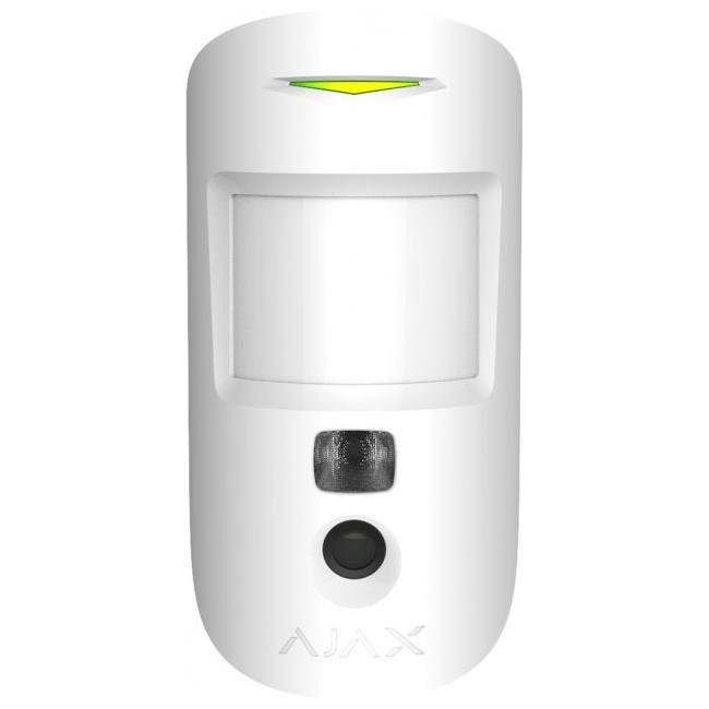 Ajax MotionCam white Беспроводной датчик движения с фотокамерой