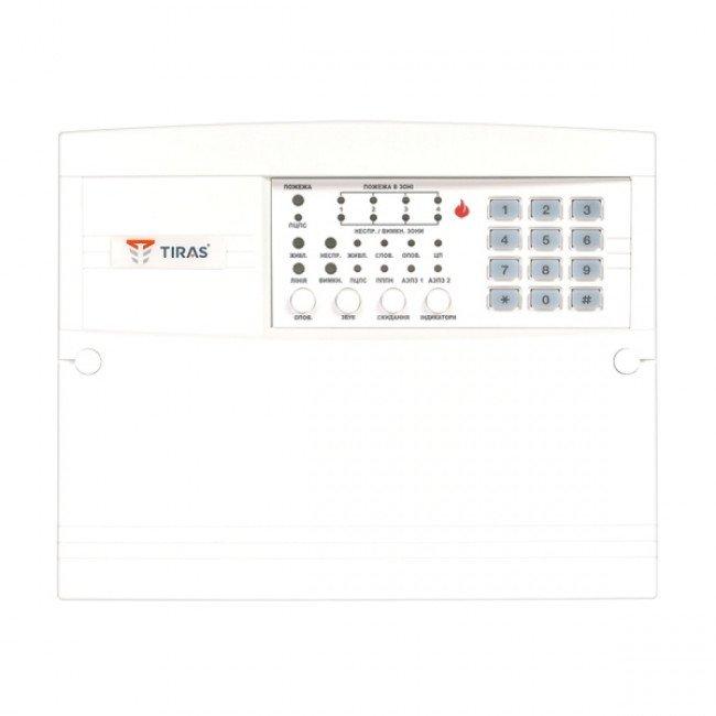 ППКП Тирас 4П Прибор пожарной сигнализации