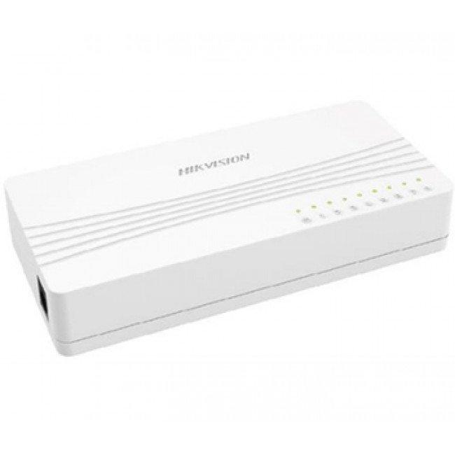 Hikvision DS-3E0108D-E 8-ми портовый коммутатор