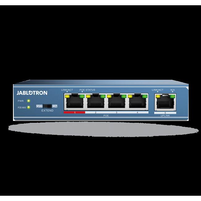 Jablotron JI-114Z Коммутатор Ethernet, PoE – 4 порта