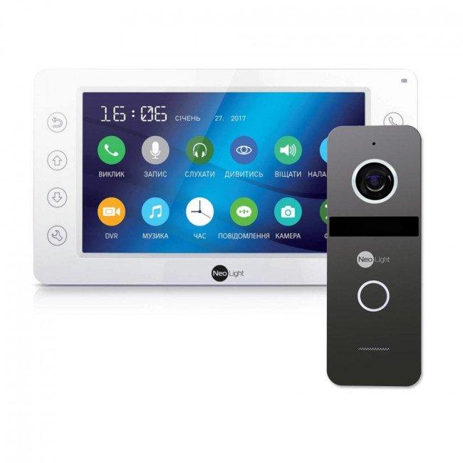 Комплект видеодомофона NeoLight Kappa+ HD и NeoLight Solo FHD