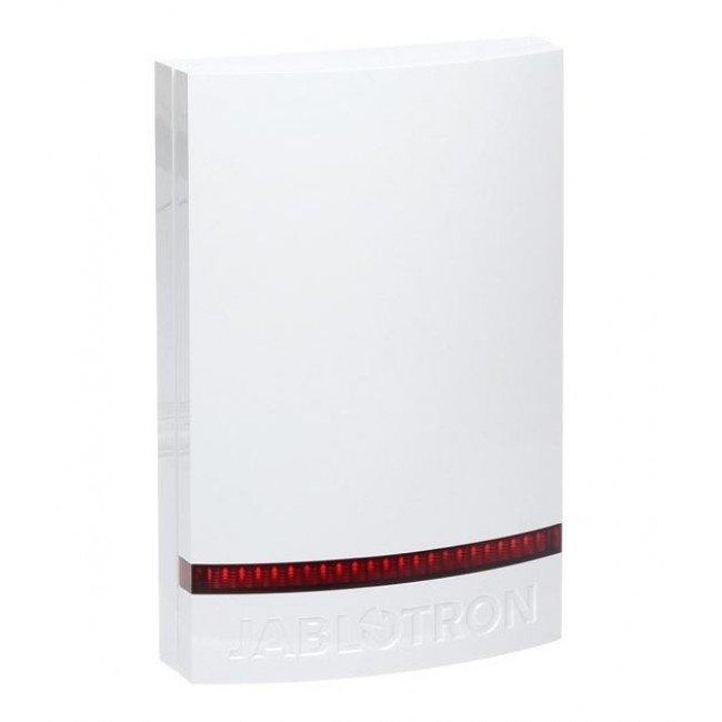 Jablotron JA-1X1A-C-WH Пластиковая крышка для JA-111A, JA-151A - белая, красный светомаяк