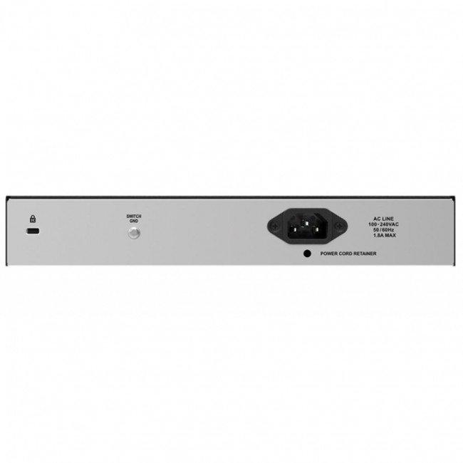 D-LINK DES-1018P Коммутатор сетевой 16 портов