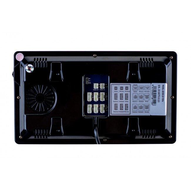 Seven DP-7574 black Видеодомофон