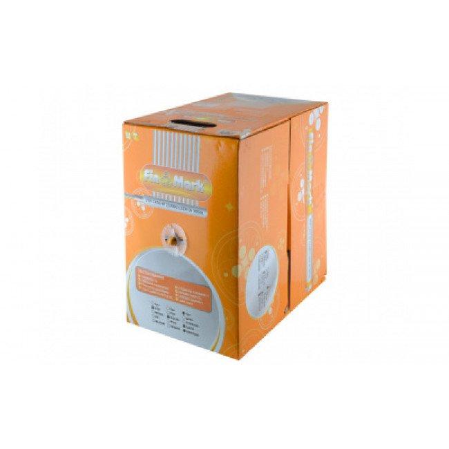 Кабель витая пара FinMark UTP CAT6 4P 23AWG LSZH оранжевый 305м внутренний