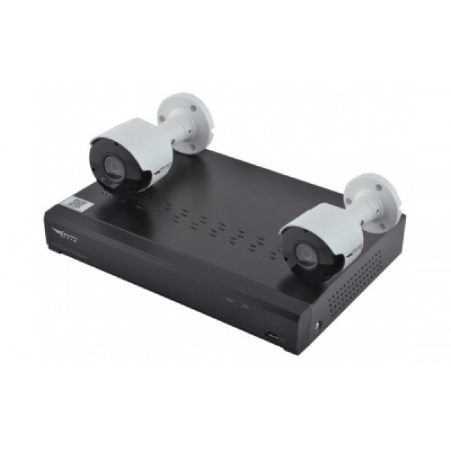 Комплект видеонаблюдения Tyto HD-KIT 2MP 2xBULLET