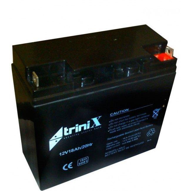 Trinix 12180 12В, 18А/ч Батарея аккумуляторная