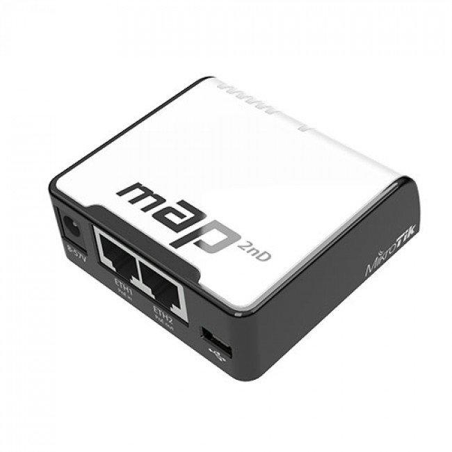 Mikrotik mAP (RBmAP2nD) Wi-Fi точка доступа