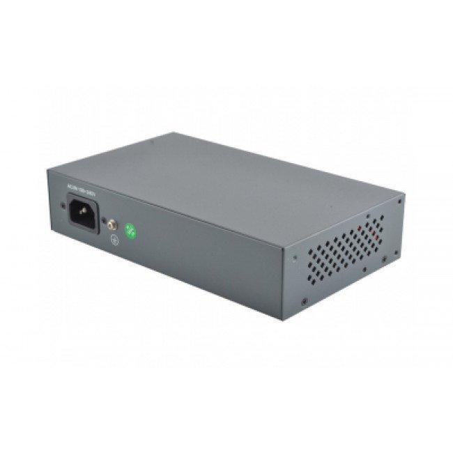 FoxGate S5804P-E2  4-портовый POE CCTV коммутатор