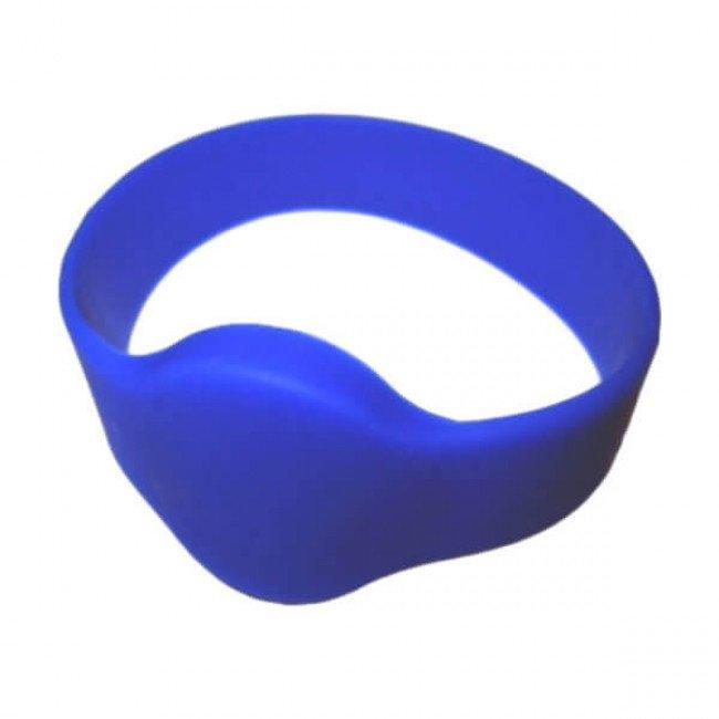 IL-10D54EB RFID Браслет силиконовый (синий)
