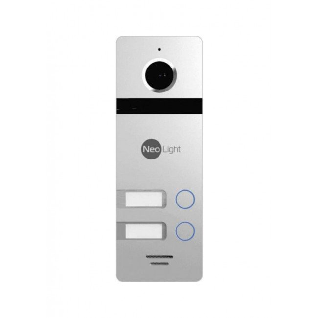 NeoLight Mega/2 Silver Панель вызова 2 абонента