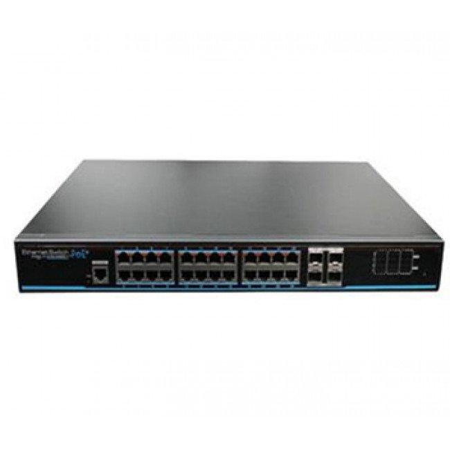Utepo UTP3-GSW2404S-MTP25 24-портовый PoE коммутатор