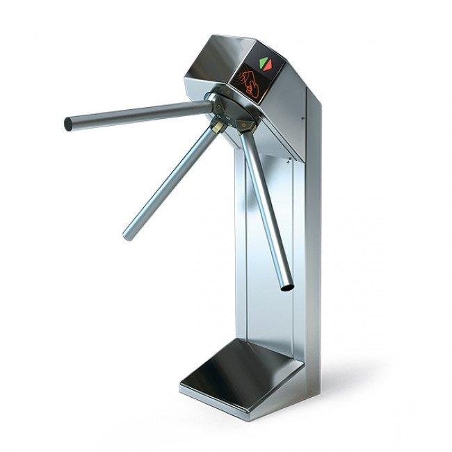 LOT Expert Турникет полир.нерж.сталь, электромеханический, штанги-алюминий