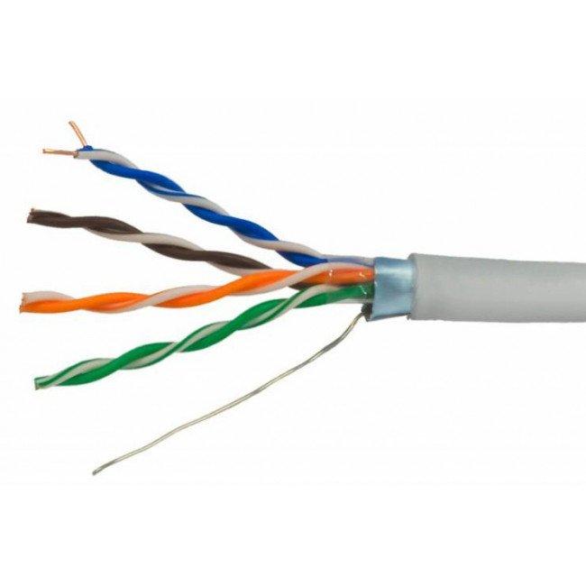 OK-NET 4*2*0.51 КПВЭ-ВП(200) FTP, медь (305м) Кабель витая пара UTP кат.5е