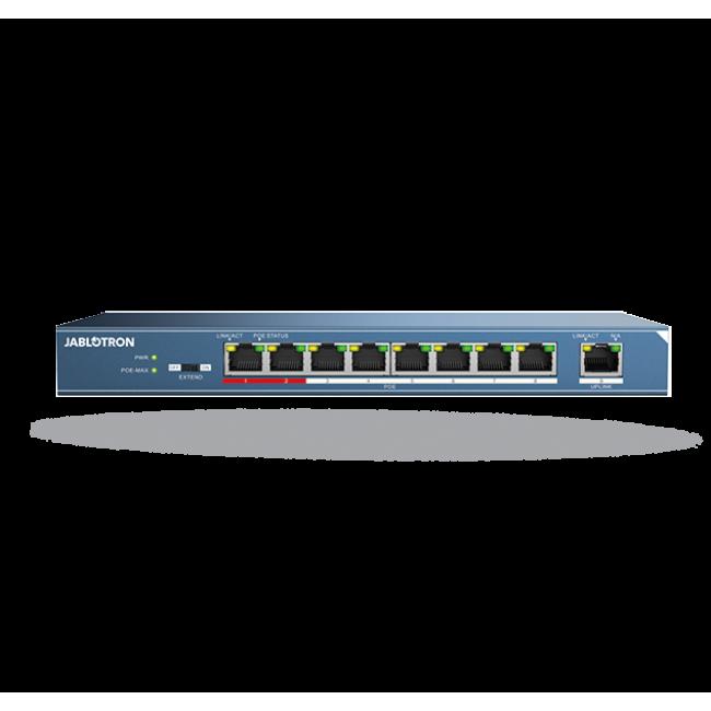 Jablotron JI-118Z Коммутатор Ethernet, PoE – 8 портов