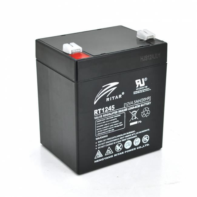 Ritar RT1245B AGM 12В, 4.5А/ч Батарея аккумуляторная