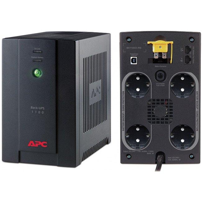 APC Back-UPS 1100VA (BX1100CI-RS) Источник бесперебойного питания