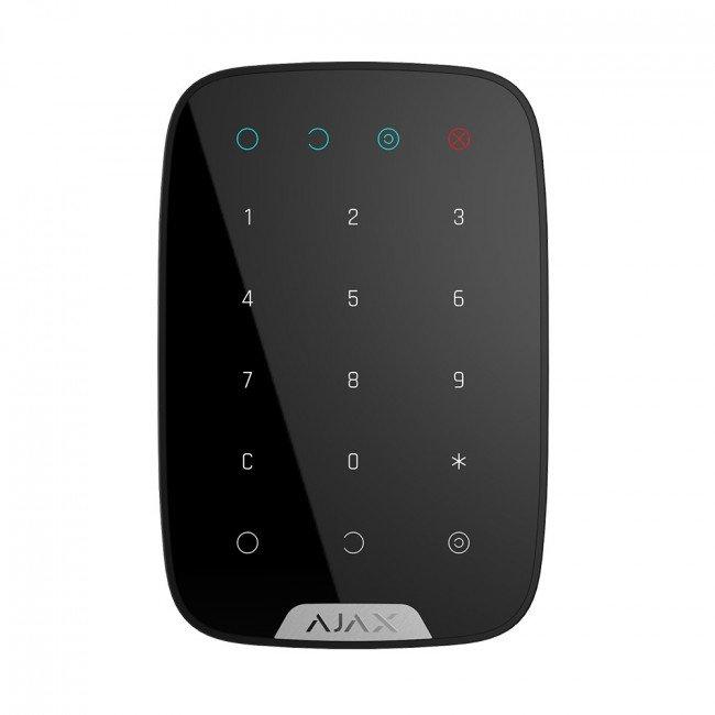 Ajax KeyPad black Беспроводная сенсорная клавиатура