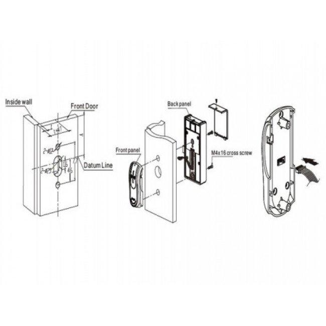 Locker-92 Mifare Замок для мебели