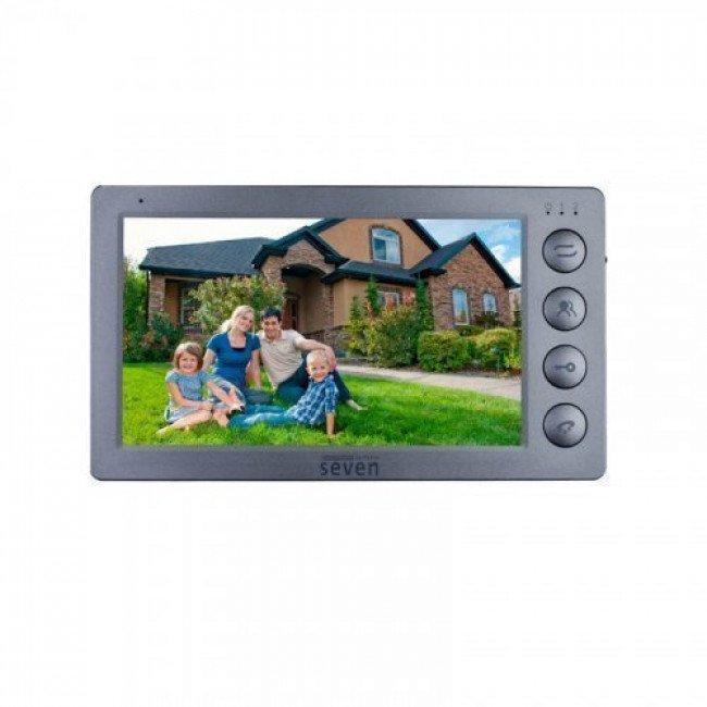 Seven DP-7574 FHD grey Видеодомофон
