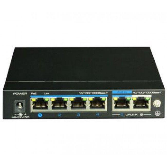Utepo UTP3-GSW04-TPD60 4-портовый PoE коммутатор