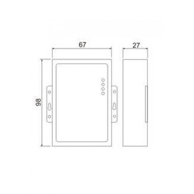 Z-397 WEB Специализированный конвертер Ethernet/RS485 x2