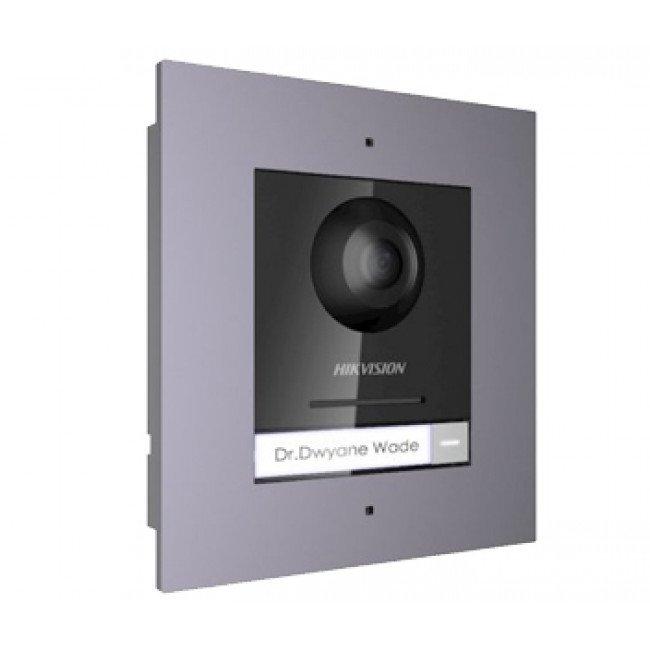 Hikvision DS-KD8003-IME1/FLUSH Комплект модуля вызывной IP панели + врезная рамка