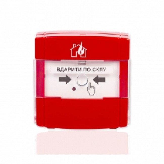 КА01-Ч Кнопка управления противопожарной автоматикой