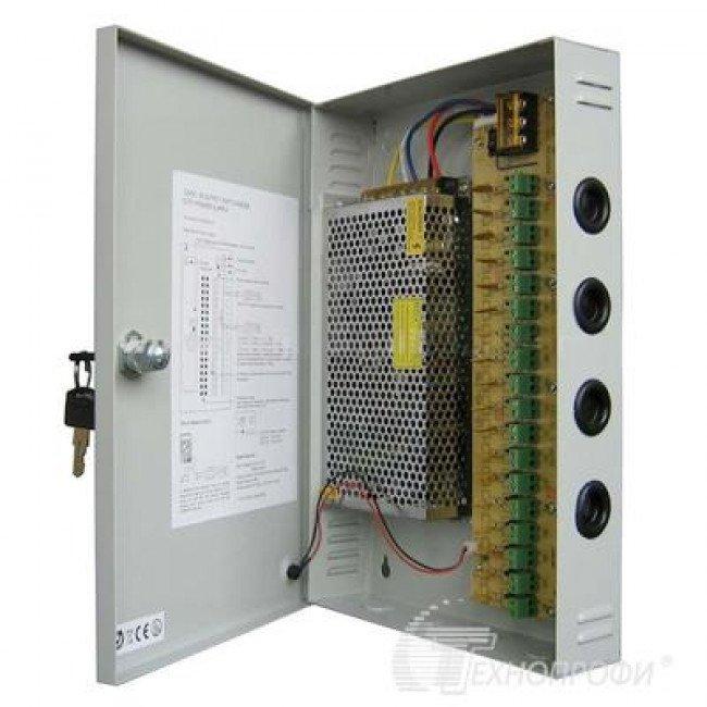 T-VISIO TT-PS122018 (Бокс) 12В/20А Блок питания на 18 вых.