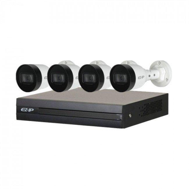 Dahua EZIP-KIT/NVR1B04HC-4P/E/4-B1B20 Комплект видеонаблюдения