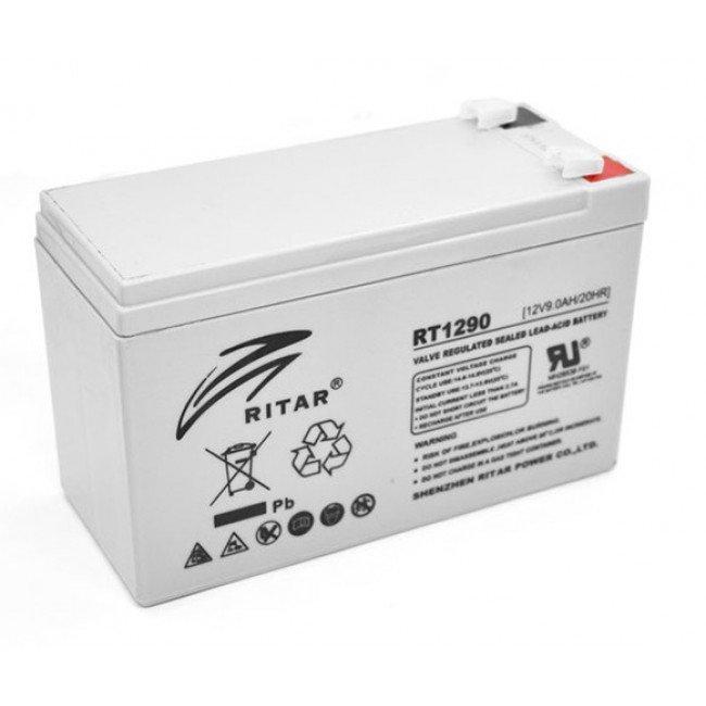 Ritar RT1290 AGM 12В, 9А/ч Батарея аккумуляторная