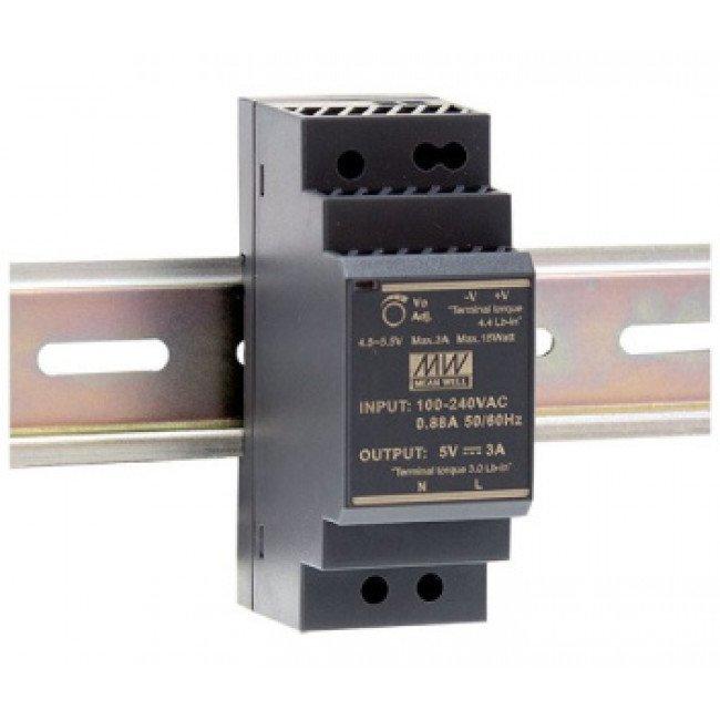 Mean Well HDR-30-12 12В/2А Блок питания монтаж на DIN-рейку