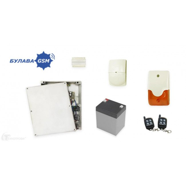 Булава Инсталлятор+ GSM-сигнализация (комплект)