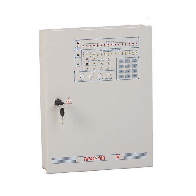 ППКП Тирас 16П Прибор пожарной сигнализации (металлический корпус)