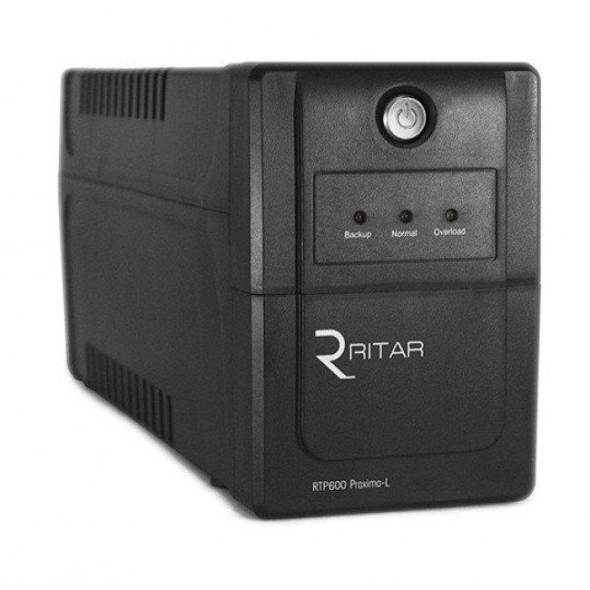Ritar RTP600L-U (360W) Proxima-L, LED Источник бесперебойного питания
