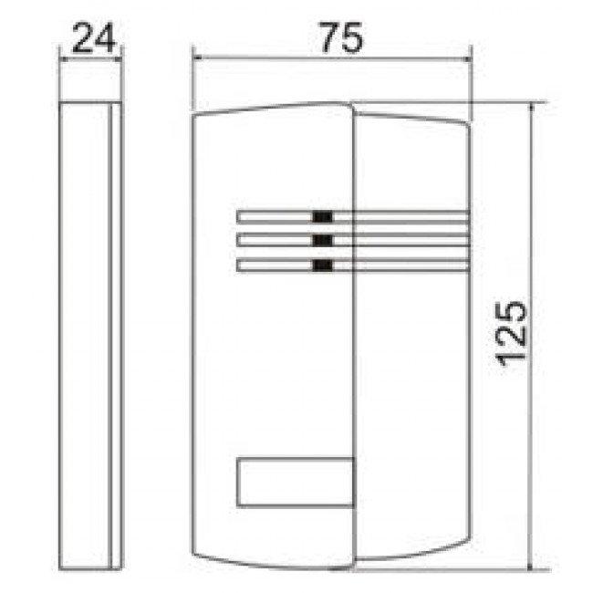 Matrix IV RF Считыватель радиобрелков (IL-100 Keeloq)