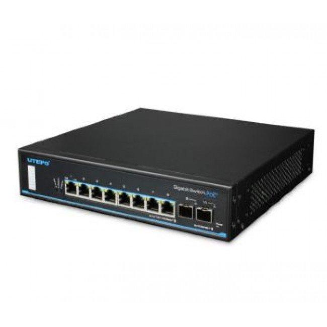 Utepo UTP3-GSW0802S-POE 8-портовый коммутатор PoE