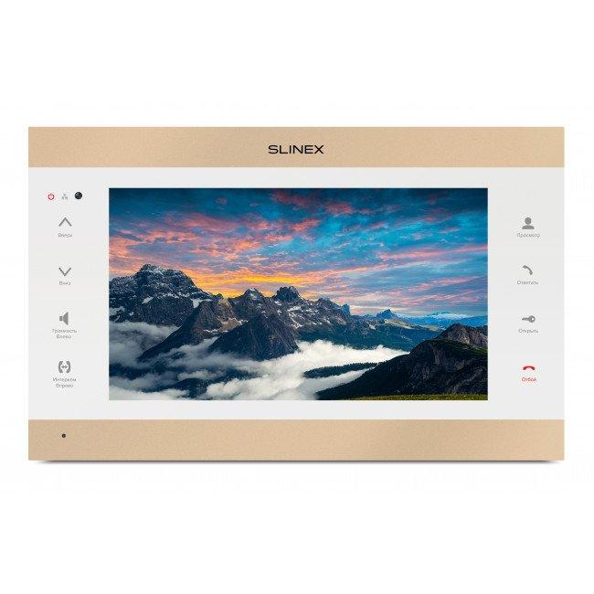 Slinex SL-10IPT Gold/white Видеодомофон